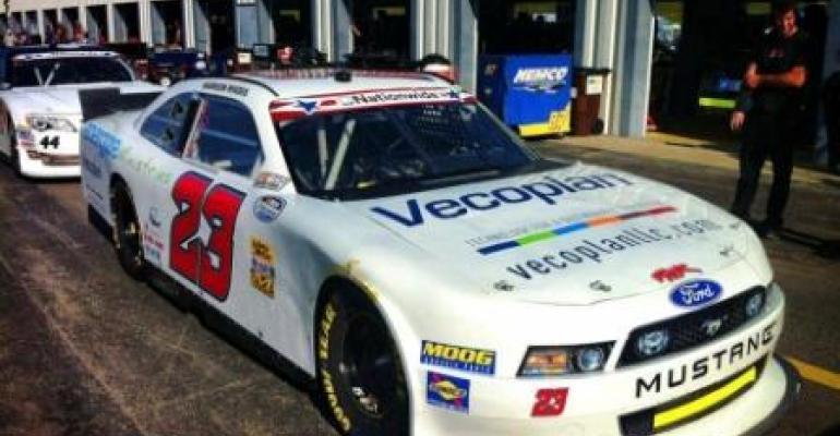 Vecoplan Sponsors Car at NASCAR Fundraiser
