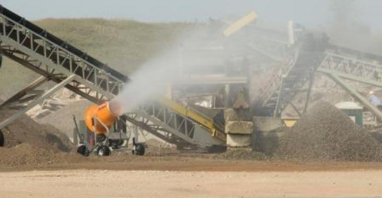 Dust Suppression Units Earn UL, CSA Certification