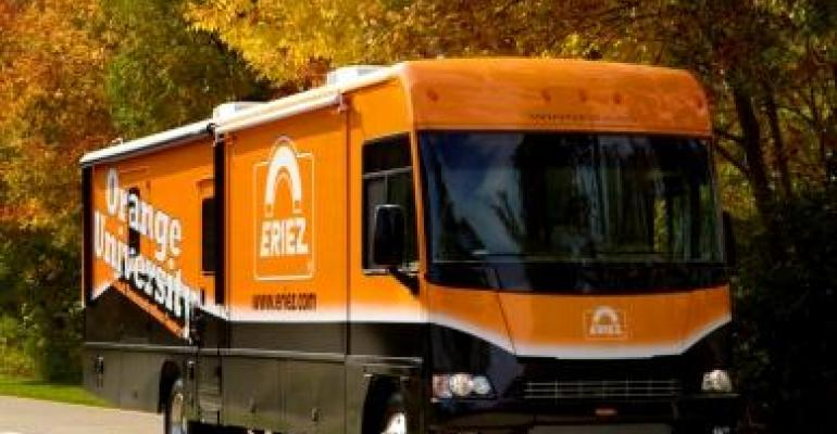 Eriez Mobile Training and Education Center Traveling North America