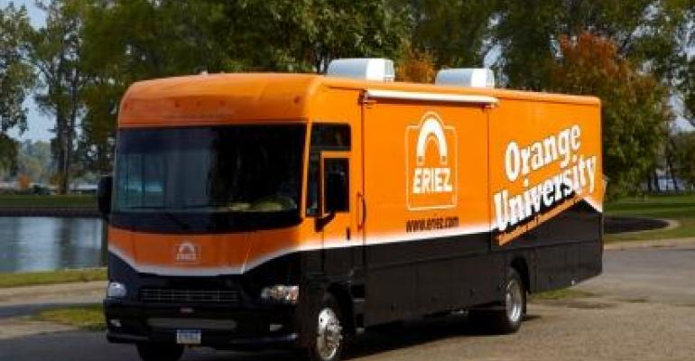 Eriez' mobile training, education center is on the road