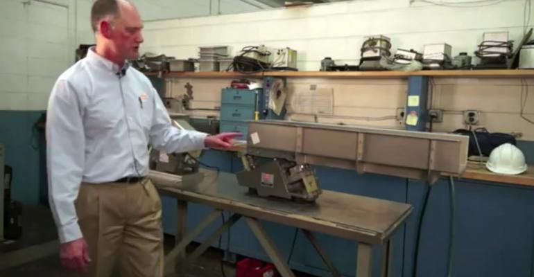 Eriez Video Demonstrates Procedures for Measuring Displacement of Vibratory Equipment