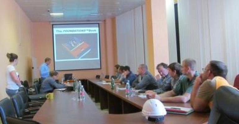 Martin Engineering has expanded its conveyor safety training program to Russia.