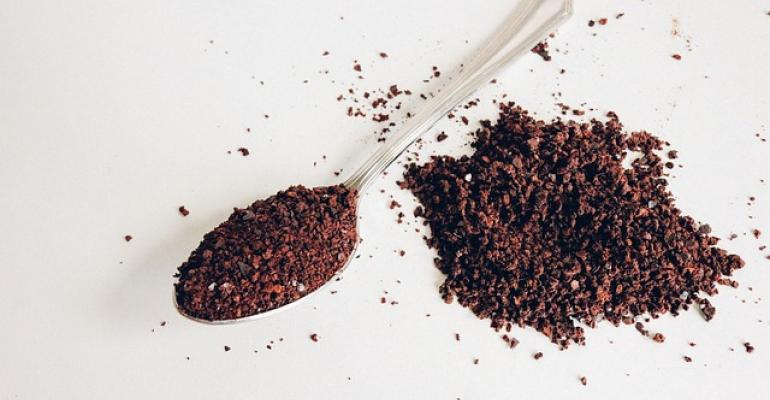 Instant coffee, pictured here, is an agglomerated powder found in many households around the world. Image courtesy of Pixabay
