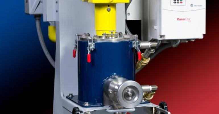Union Process Inc. has built its first combination mill comprised of an S1 batch mill combined with an SDM-05 mill, designed to operate as a bead mill.