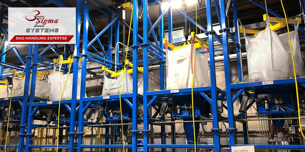 Bulk Bag Unloaders – How to Achieve True Dust Containment
