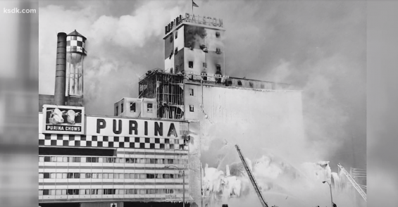 Throwback: Grain Dust Explosion Footage from 1962
