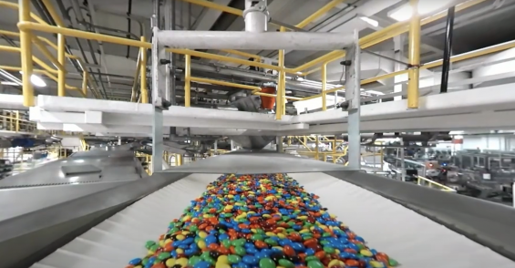 See How M&Ms are Made at a Mars Inc. Factory