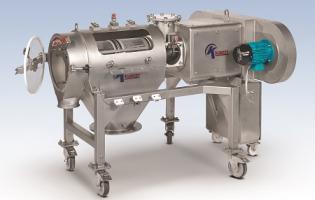 Kason model MOB-DD-SS dual-drive Centri-Sifter centrifugal sifter