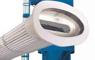 Donaldson offers a snap-in pleated bag filter for its Torit RF baghouse dust collector.