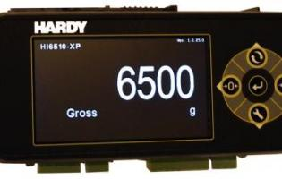 Hardy Process Solutions introduces the HI 6500-XP Extreme Weight Processor.