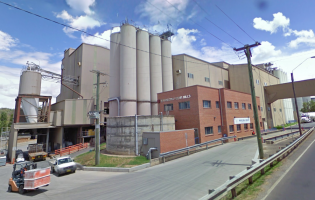 The Manildra Flour Mills facility in New South Wales, Australia. Image courtesy of Google Maps