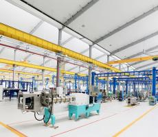 Bühler Changzhou production plant interior view