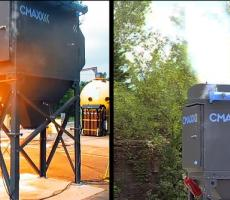 The CMAXX dust collector with IDA DeltaMAXX filters can isolate a deflagration and stop a flame front.