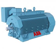 ABB's Above NEMA NXR 7100 motor