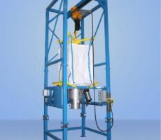 Material Master bulk bag discharging system