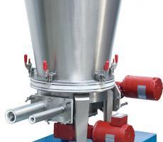 Acrison Inc. Model 170-2-2 dry solids volumetric feeder