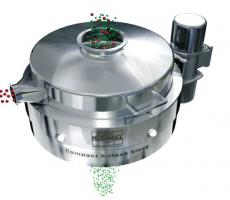 Airlock Compact Sieve for Pharmaceutical Powders