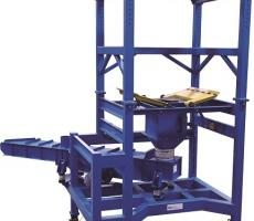 Best Process Solutions loss-in-weight vibratory batch feeder system