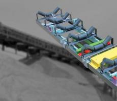 Thayer Scale's high-accuracy conveyor belt scale