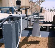 Berthold online moisture analyzer