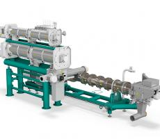 Bühler PolyOne single-screw extruder