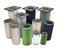 HemiPleat premium replacement filter cartridges from Camfil APC