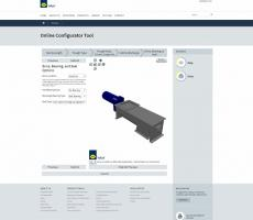 WAM USA Inc. introduces the online Screw Conveyor CAD Configurator