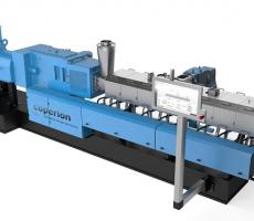 Coperion's enhanced ZSK Mc18 twin screw extruder