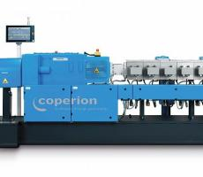 Coperion ZSK 58 Mc18 twin-screw extruder