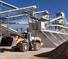 Image 2: Mining is another key industry that relies on dust collector systems.