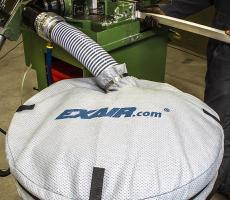 Exair fine mesh non-woven drum cove