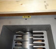Fig 1: Prater lump breaker rotor and breaker bars