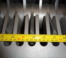 Figure 3: Blade spacing detail