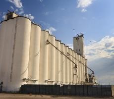 Figure 1: A familiar site in rural America, but how much product is stored in those silos?