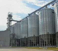 Figure 3: Silos used to store malt and barley