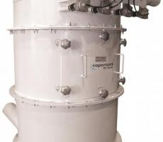 The Filtair Series filter receiver provides automatic material-from-air separation.