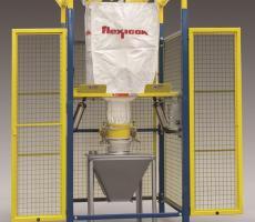 Flexicon Bulk-Out Model BFF bulk bag discharger