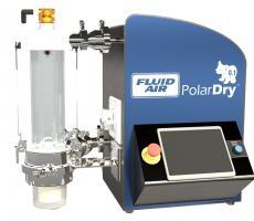 Fluid Air PolarDry Model 0.1 electrostatic spray dryer