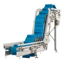 Frazier & Son's new easy-to-clean incline conveyor