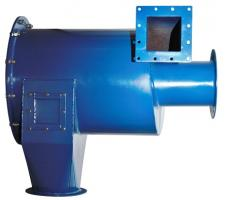 Ground-Plate Cyclone Dust Collector