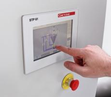 Gericke USA STP 61 pneumatic conveying control system