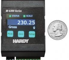 Hardy Process Solutions introduces the HI 6200 single-channel weight processor.