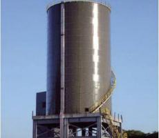 Hybrid constructed silo