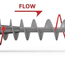 Figure 5: Mass flow screw