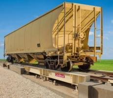 Cardinal Scale low-profile LPRA railroad track scale