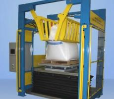 Material Transfer & Storage Inc.'s new patented bulk bag conditioning system