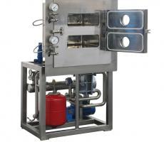 Italvacuum LaboDry Model ES-2 laboratory vacuum tray dryer