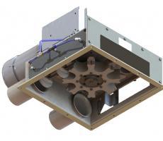 MPE in-line puck knocker