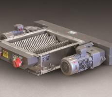 Munson DeClumper lump breaker with dual drives