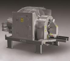 Munson sanitary rotary batch mixer